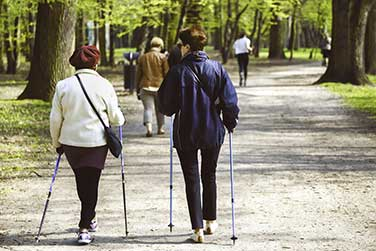Sportverein DJK Mannheim: Nordic Walking